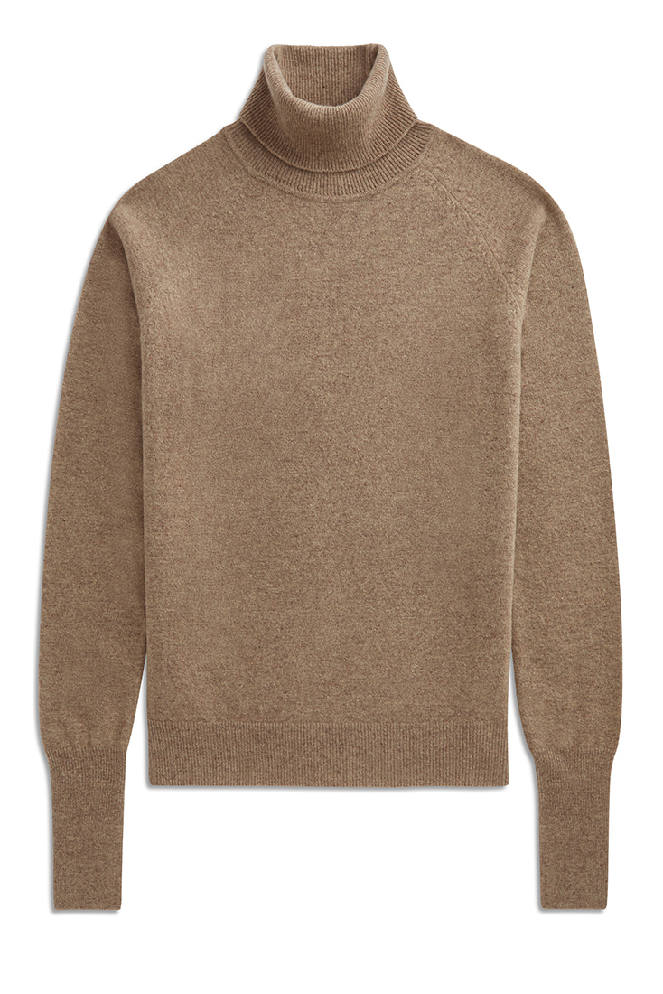 Soft Mohair knit pullover - Beige