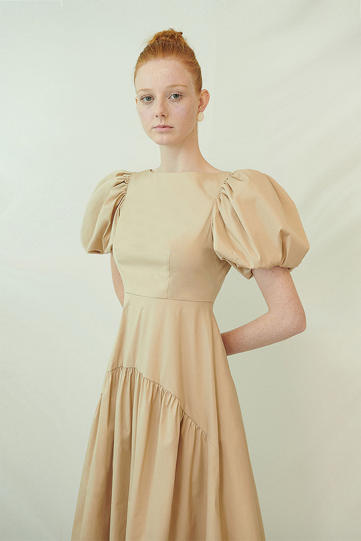 Pottinger Dress - Beige