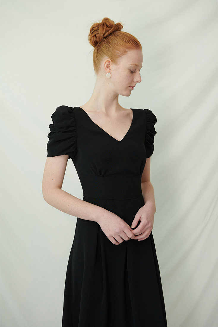 Queens Dress - Black