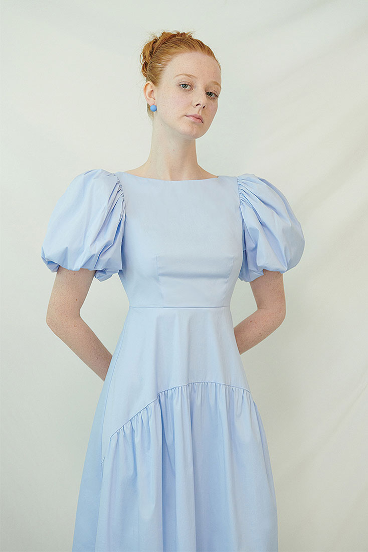Pottinger Dress - Blue