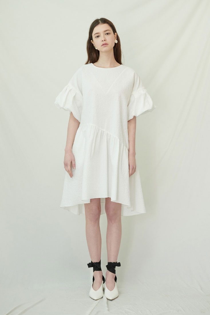 May Dress - White