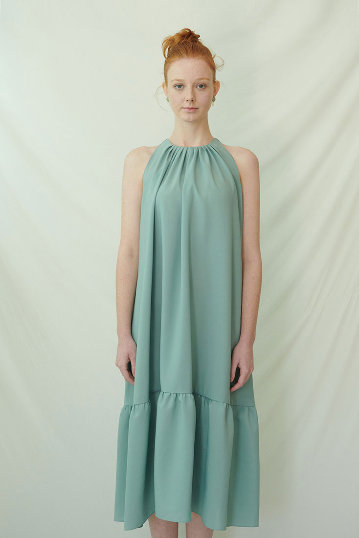 Peel Dress - Mint
