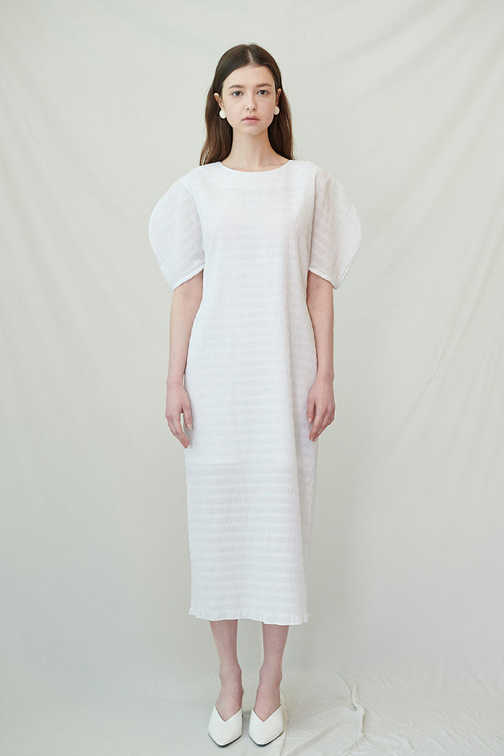 Graham Dress - White