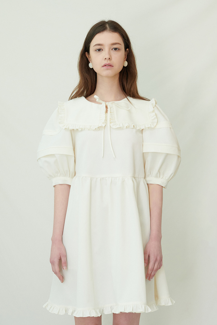 Jubilee Dress - White