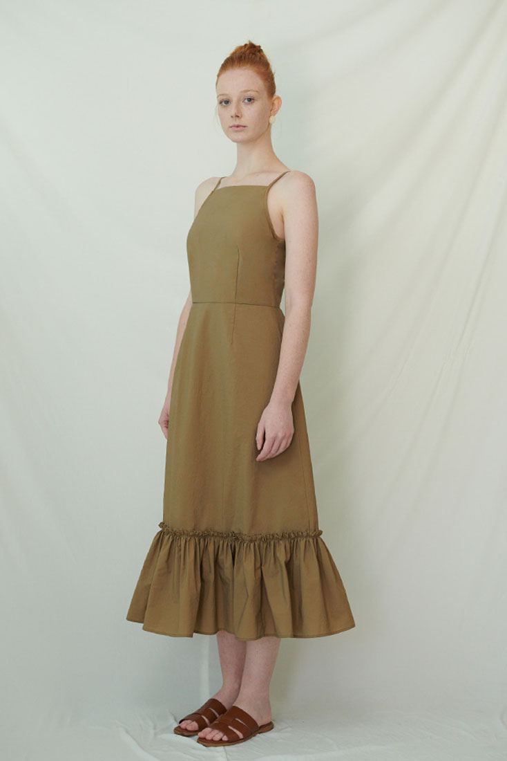 Bisney Dress - Brown